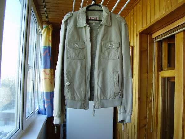 Кожаная куртка Мустанг Германия в Самаре
