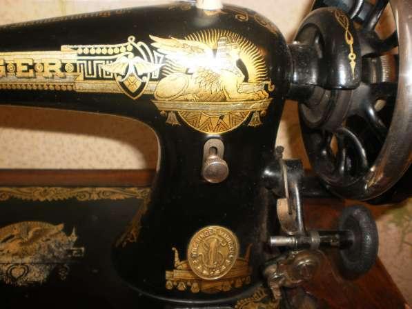 Швейная машинка Зингер 1909 года выпуска в Санкт-Петербурге фото 4