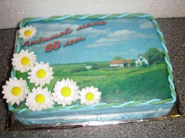 Торт, пирожное с вашим фото