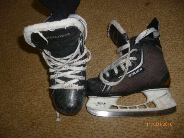 Детская амуниция для хоккея с шайбой