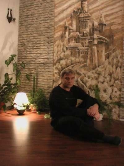 Портрет по фото. Роспись стен в Омске фото 5