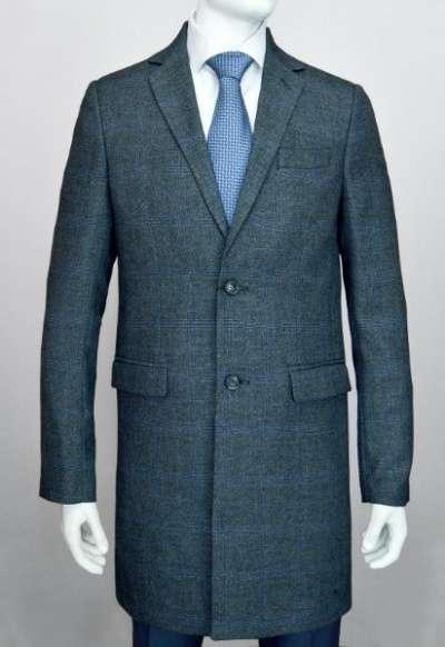 """пальто длинное демисезонное серое Blackford C-02 """"Банкинг"""""""
