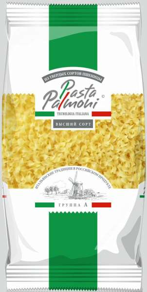 "Макароны ТМ ""Pasta Palmoni"",гр А, Лапша фигурная,400гр"