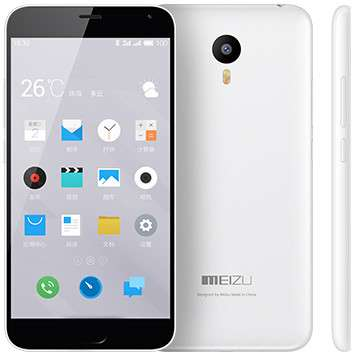 Смартфон Meizu M2 Note 16Gb LTE Dual Sim White