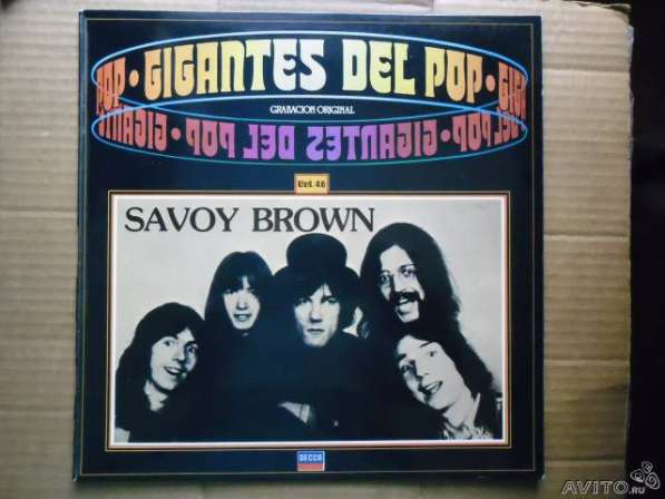 Savoy Brown - Gigantes Del Pop Vol. 46