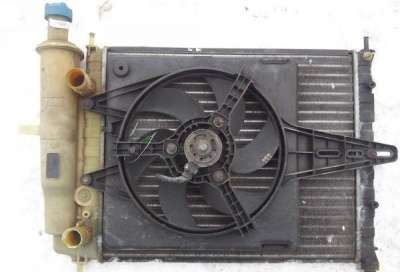 автозапчасти фиат-брававо 1998г Вентилятор 1.4л1.6л