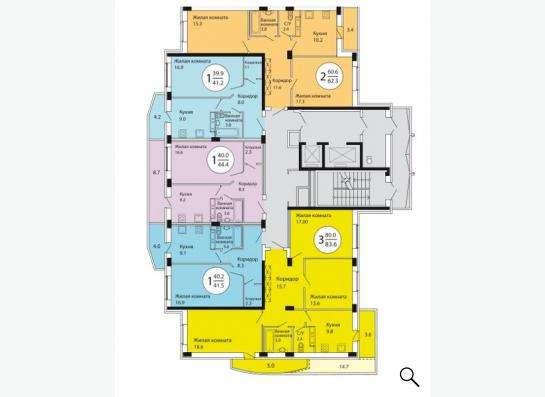 Продается 2-комн. квартира(Лыткарино,Колхозная д.6 корп.1) в Лыткарино фото 3