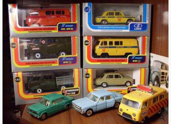 Старые советские и зарубежные автомодели в Москве фото 4