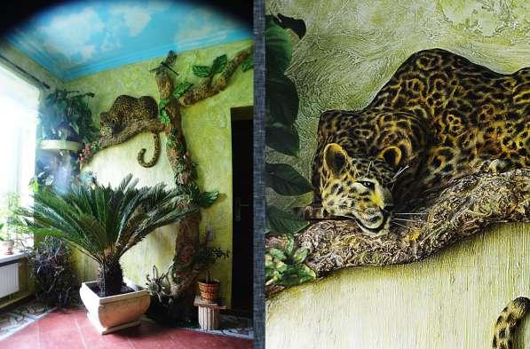 Ручная лепнина, барельеф, декор стен в Сергиевом Посаде фото 11