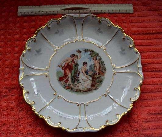 Фарфоровая тарелка(блюдо) Jlmenau