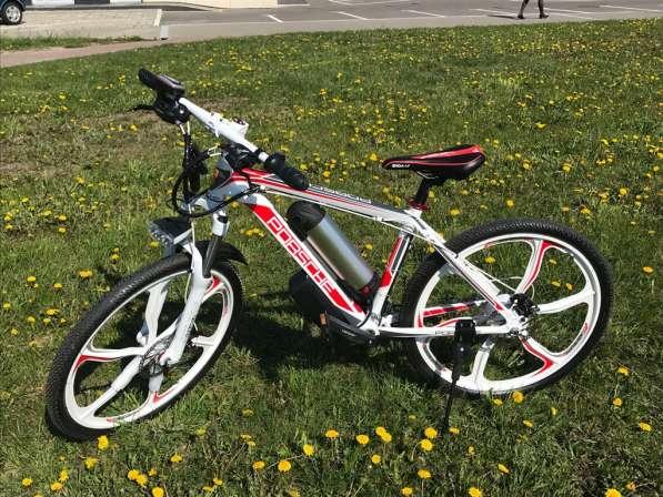 Электровелосипед Porshe 350W. Велосипед в фото 3