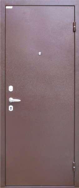 """Дверь входная металлическая """"Эконом"""" с 2-мя замками"""