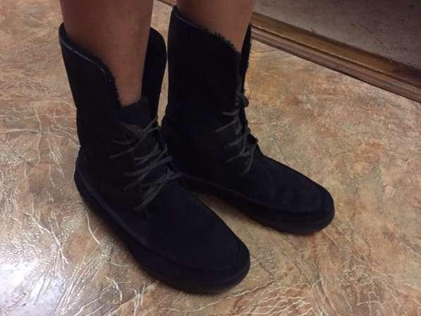 Зимние тёплые чёрные сапоги в Феодосии фото 4
