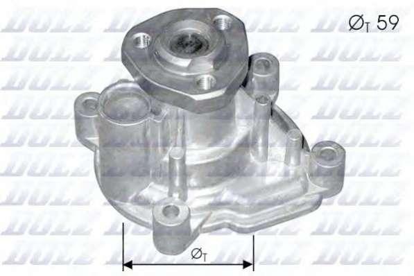 VW POLO V Водяной насос (помпа)