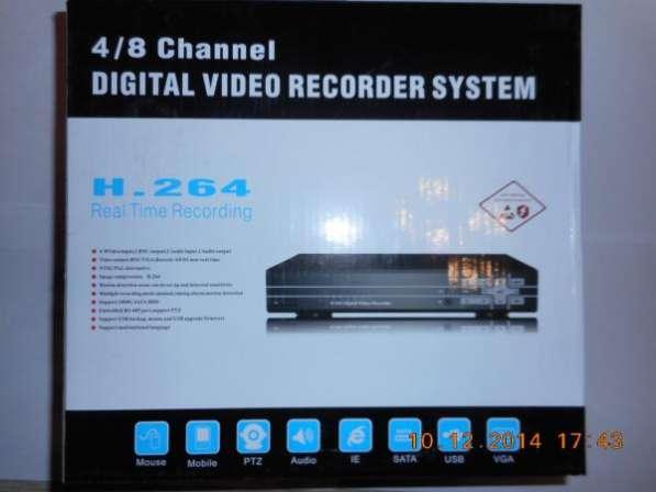 Видеорегистратор Н-264, 8-х видео 2-х ауди входа