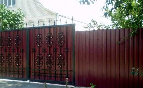 Заборы из профлиста, панельные, деревянные под ключ