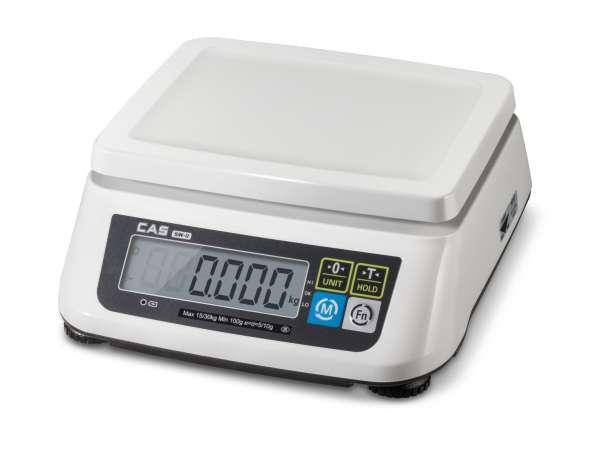 Весы CAS SWN-6C. Весы электронные настольные для магазина
