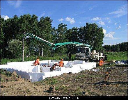 Услуги бетононасоса