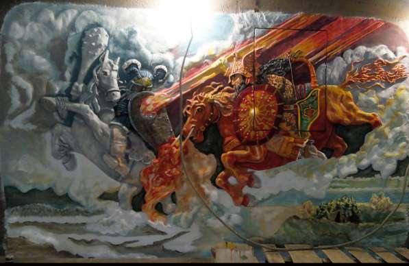 Ручная лепнина, барельеф, декор стен в Сергиевом Посаде фото 16