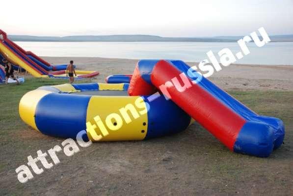 Продам надувные водные атракционы