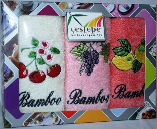 Бамбуковые полотенца новые