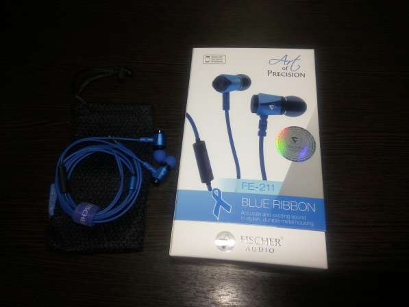 Гарнитура Fischer Audio Blue Ribbon