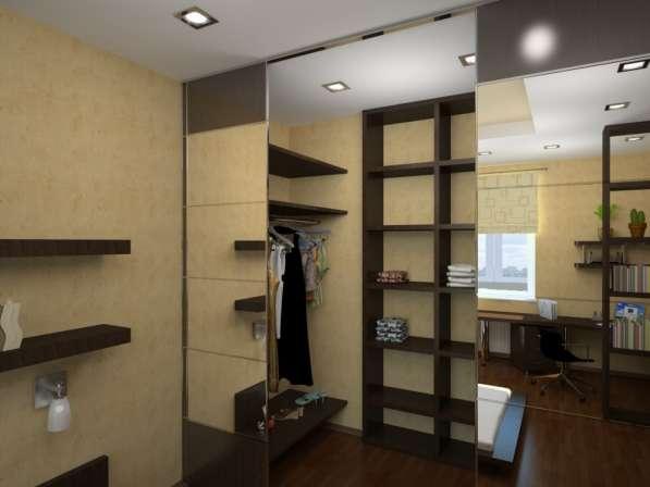 Гардеробные и шкафы-купе по индивидуальным размерам
