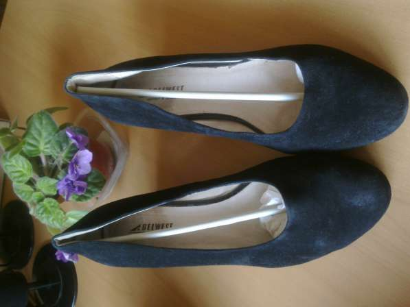 Туфли замшевые р.42 Белвест в фото 4