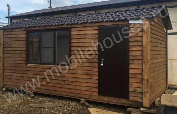 Деревянный садовый домик 3х6м на заказ