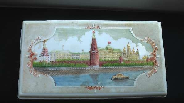 Игрушка СССР Коробка фишки с картинками 1950-60 годов