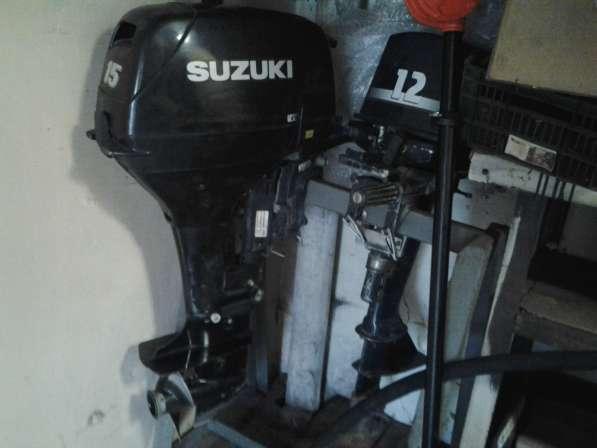 Лодочный мотор Сузуки DT 15 в Одинцово