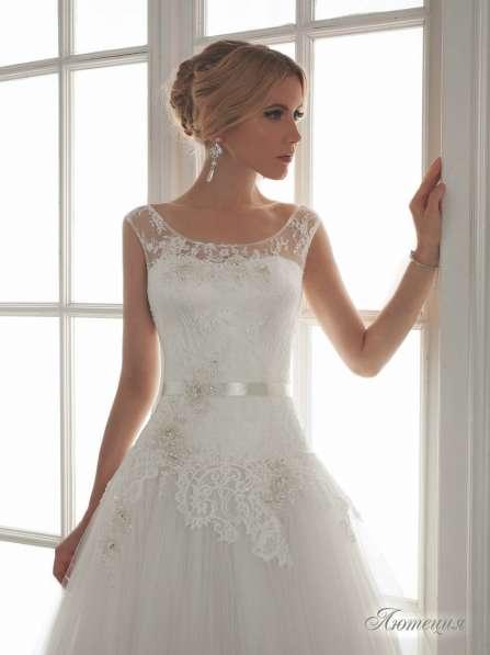 Дизайнерское свадебное платье Lady White