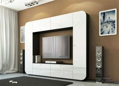 Стенка белая iMeb мебель-неман в hi-tech Мебель-Неман iMeb