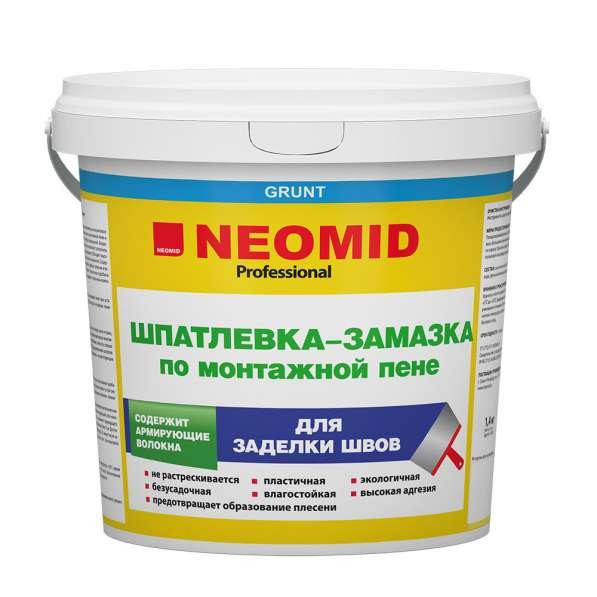 Шпатлёвка по монтажной пене Неомид