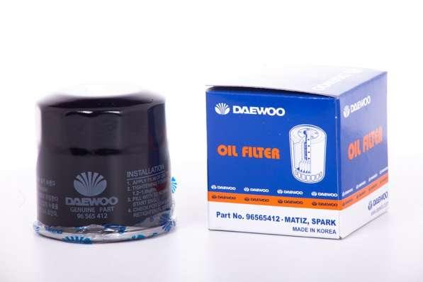 Фильтр масляный Daewoo Matiz/Chevrolet Spark, Aveo 96565412