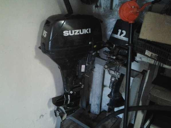 Лодочный мотор Сузуки DT 15