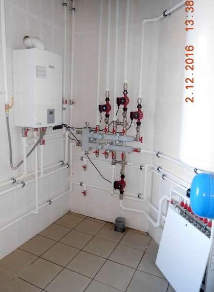 Монтаж систем отопления, водоснабжения, канализации в Омске фото 17