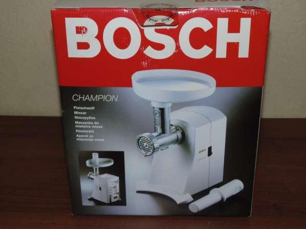 Мясорубка новая в коробке Bosch MFW 1501 в Москве фото 4