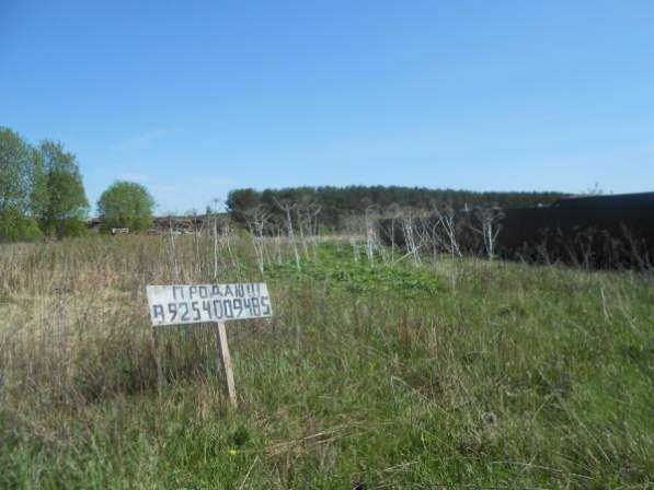 Земельный участок 16 соток в деревне Хотилово, Можайский район, 109 км от МКАД по Минскому шоссе.