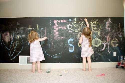 Меловые и маркерные обои, рисуй где хочешь!