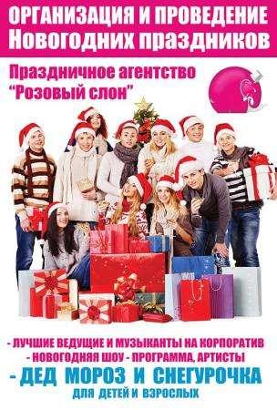 Организация Новогодних корпоративов в Солнечногорске Зеленограде Клину