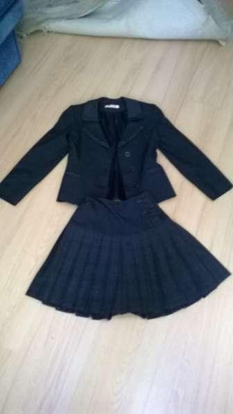 Школьная форма, рост 134-140см, пиджак, юбка