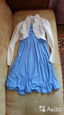 Платье-юбка и болеро