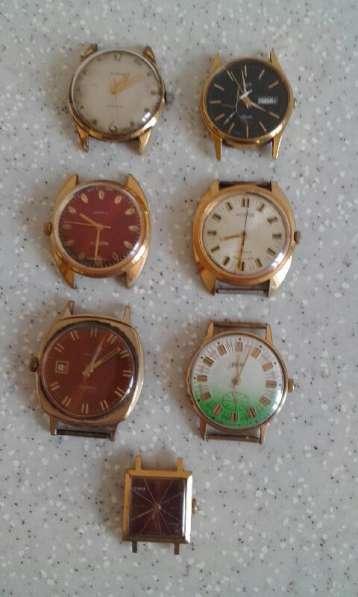 Часы советские, позолота