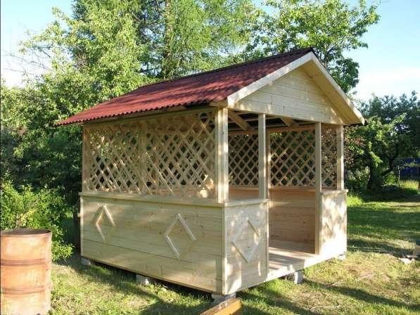 Изготовление Беседок и туалетов дачных
