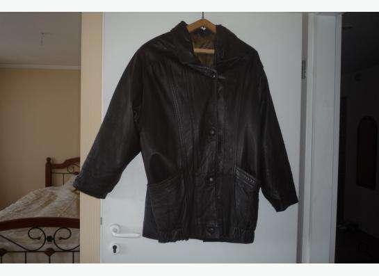 Куртка кожаная-52раз.новая из Турции.т.89137768497 в Новосибирске