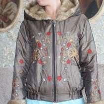 Куртка женская с вышивкой, в г.Астана