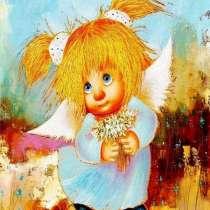 """Картина по номерам """"Солнечный ангел доброты"""" 40х50, в Омске"""