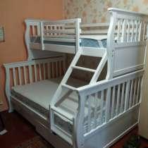 Кровать из натурального дерева ольхи Джонатан, в г.Одесса