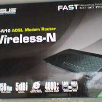 Роутер Asus DSL-N10 Wireless-N, в г.Москва